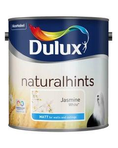 Dulux Natural Hints Matt Jasmine White - 2.5L