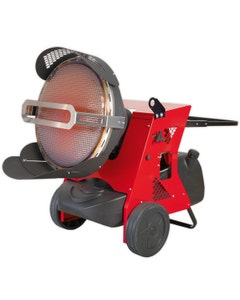 Sealey Infrared Multi Fuel Heater - 45.5kW