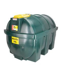 Deso Bunded Horizontal Waste Oil Tank 1800L - H1800WOW
