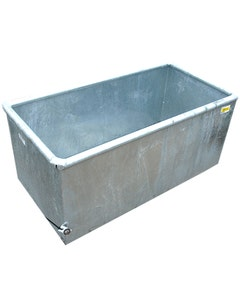 IAE Galvanised Cattle Drinking Trough - 4ft