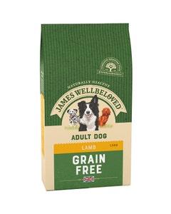 James Wellbeloved Adult Dog Grain Free Lamb & Vegetables - 1.5kg
