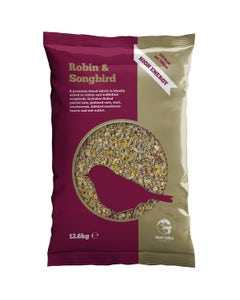MVF Robin & Songbird Wild Bird Food - 12.6kg