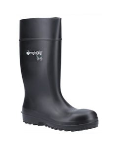 Amblers Adults AS1004 Metal Free Safety Wellington Boots - Black