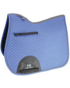 Hy Sport Active GP Saddle Pad Regal Blue - Cob/Full