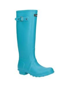 Cotswold Ladies Sandringham Wellington Boots - Turquoise