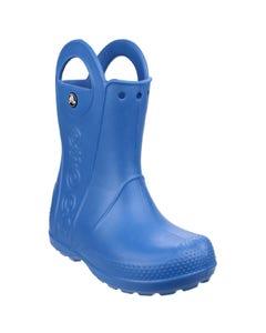 Crocs Children's Handle It Wellington Boots - Blue