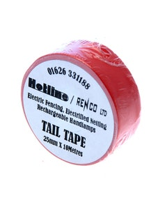 Hotline Coloured Tail Tape - Red