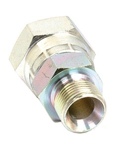 "Sparex Hydraulic Adaptor BSP Male/Female 1/4"" x 3/8"""