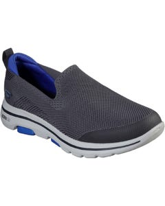 Skechers Mens GOwalk 5 Prized Casual Shoes - Charcoal