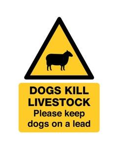 Raymac Signs Dogs Kill Livestock Sign