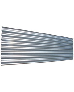 "Corrugated Galvanised Sheet 8/3"" x 24g - 12ft"