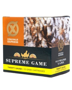 Lyalvale Express Supreme Game Plastic Wad Cartridge