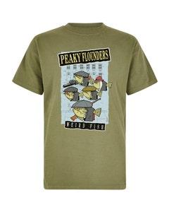 Weird Fish Mens Peaky Flounders Artist T-Shirt
