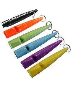 Acme 210.5 High Pitch Plastic Dog Whistle Orange