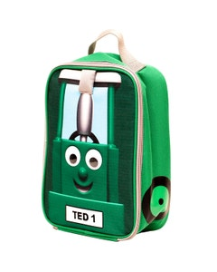 Tractor Ted Lunch Bag - Green