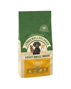 James Wellbeloved Adult Dog Small Breed Lamb & Rice - 1.5kg