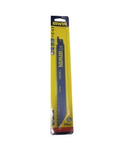 Irwin Sabre Saw 810R Metal & Wood Cutting Blades 200mm x 10TPI - 2 Pack