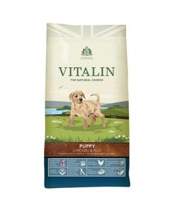 Vitalin Puppy Chicken and Rice - 12kg
