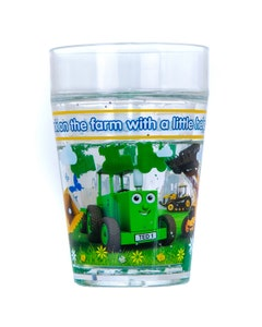 Tractor Ted Digger Glitter Beaker