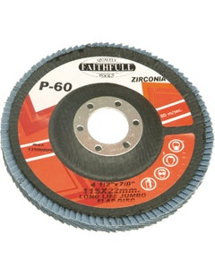 Faithfull Flap Discs - 115mm x 22mm Medium