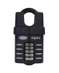 Squire CP60CS Close Shackle 60mm Re-codeable Combination Padlock