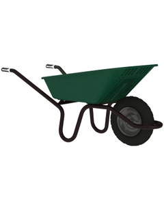 Haemmerlin Vibrante Go Green Wheelbarrow - 90L