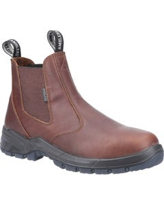 Amblers Adults Ardwell Occupational Dealer Boots - Brown