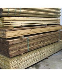 Treated Timber - 125mm x 75mm x 4.57m