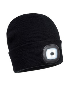 Portwest Beanie Hat With LED Head Light