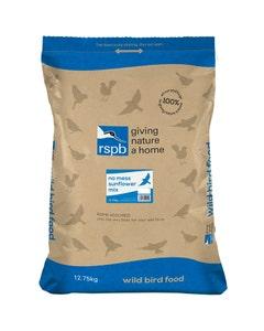 RSPB No Mess Sunflower Mix Wild Bird Food – 12.75kg
