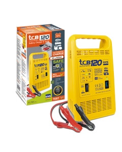 GYS TCB 120 Automatic 12V Battery Charger & Tester