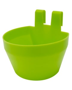 Eton Plastic Galley Pot/Cage Cup - Anise Green