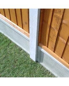 Forest Garden Lightweight Concrete Gravel Board - 183cm x 15cm - Pack of 3