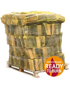 Warma Kiln Dried Hardwood Logs - 80 Net Pallet