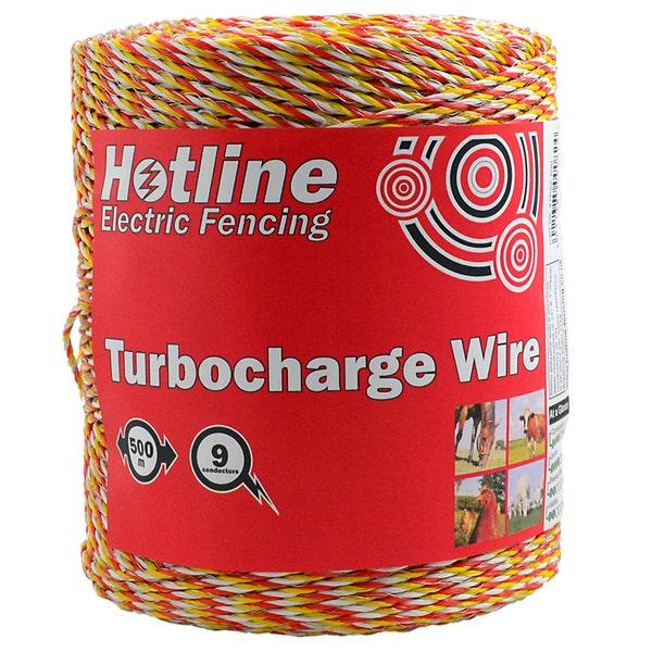 An image of Hotline P62 9 Strand Turbocharge Polywire 500m