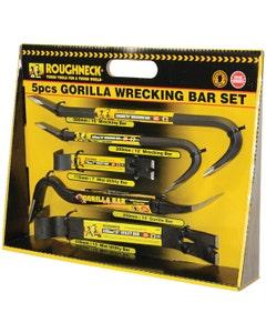 Roughneck Gorilla Wrecking Bar Set - 5 Piece