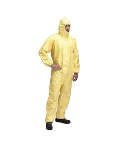 TYCHEM C Chemical Disposable Coverall Boilersuit - Yellow