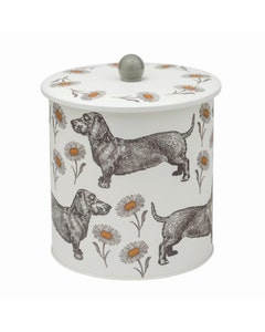 Thornback & Peel Dog and Daisy Biscuit Barrel - 480g