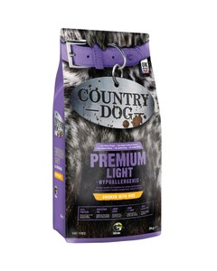 Country Dog Premium Light Hypoallergenic Adult 1+ Chicken With Rice - 2kg