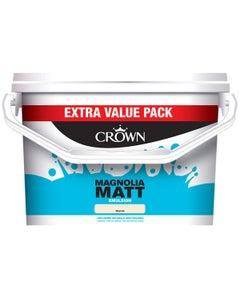Crown Matt Emulsion Paint Magnolia - 7.5L