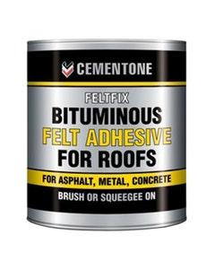Feltfix Bituminous Felt Adhesive for Roofs - 2.5L