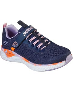 Skechers Children's Solar Fuse Paint Power Sports Shoes - Navy/Multi