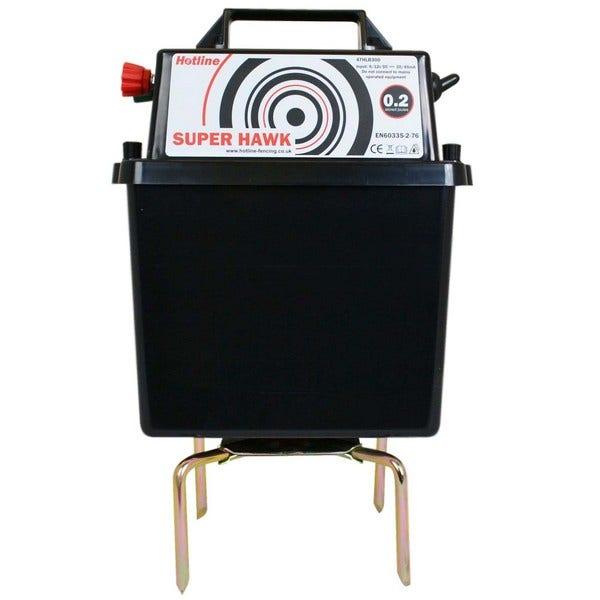 An image of Hotline HLB300 Super Hawk 12V Battery Electric Fencing Energiser