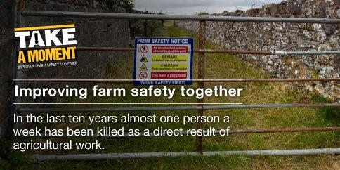 be safe on farm