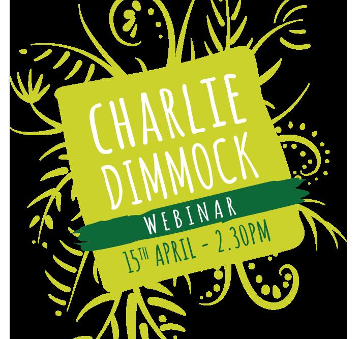 Charlie Dimmock Webinar - 15th April | 2.30pm