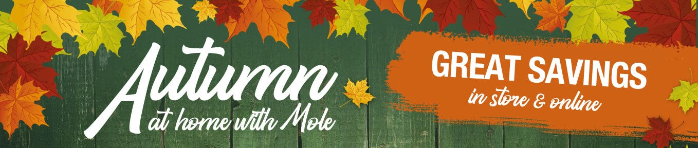 Autumn at home with Mole - great savings in store and online