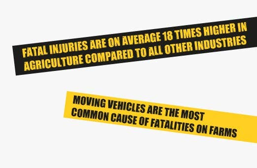 fatal injured are on average 18 times higher