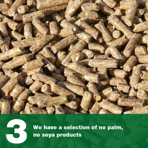 We have a selection of no palm, no soya products