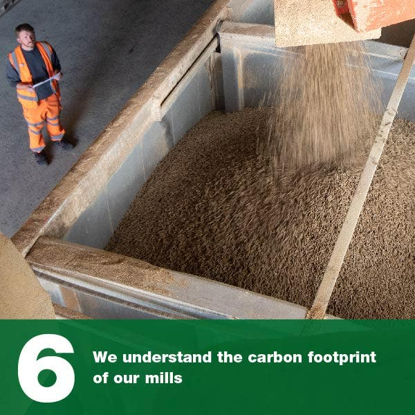 We understand the carbon footprint of our mills